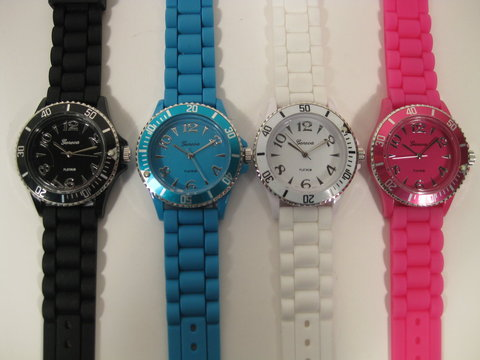 one of my favorite trends for spring and summer is the bright bold watches that add a pop of color to any outfit these watches are available at firtbop - Color Watches